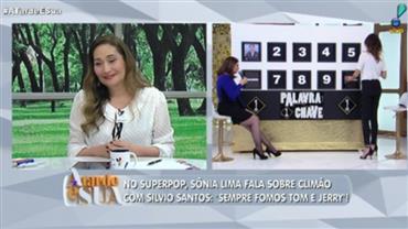 Sonia Lima fala sobre climão com Silvio Santos no SuperPop