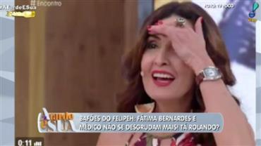 Bafões do Felipeh: Médico visto com Fátima se separa da esposa