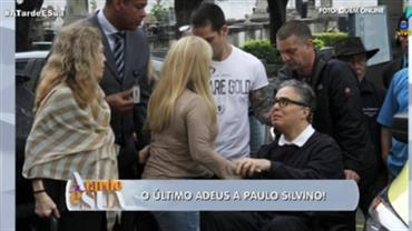 Flávio Silvino e famosos se despedem de Paulo Silvino