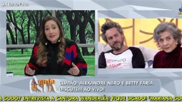 """""""Isso é um homem de verdade"""", diz Sonia Abrão sobre Nero"""