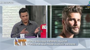 Bruno Gagliasso estaria devendo R$ 50 mil de aluguel