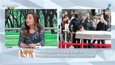 Brinde de vinho diante do caixão foi pedido de Marcelo Rezende aos filhos