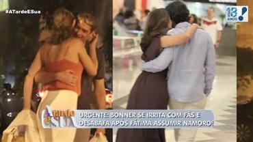 """William Bonner quis """"copiar"""" flagra de Fátima Bernardes com namorado?"""