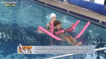 Empresária fala sobre estado de saúde de Claudia Rodrigues
