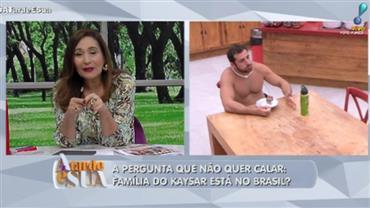 """Sonia Abrão sobre Kaysar com família: """"Bom ter um médico por perto"""""""