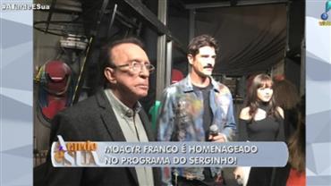 """""""Moacyr Franco está sendo tratado como merece em emissora"""", diz Sonia Abrão"""