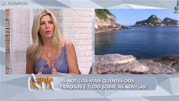 """Vladimir Alves para Íris Stefanelli: """"Agora quer um cachorrão"""""""