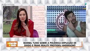 """Sonia Abrão critica reality após expulsão: """"Como pode não ter câmeras?"""""""