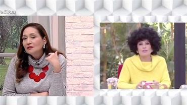 """Sonia Abrão aprova peruca de Ana Maria Braga: """"Ficou bonita de black power"""""""