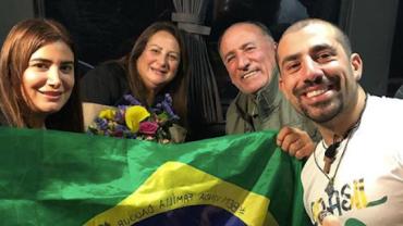 """Kaysar reencontra família e Sonia Abrão decreta: """"Verdadeira final do BBB"""""""
