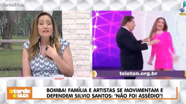 """Sonia Abrão detona campanha contra Silvio Santos: """"Isso sim é assédio"""""""