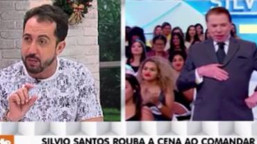 Silvio Santos não teve tempo de ir ao cabeleireiro e deu o que falar