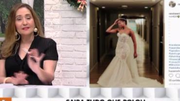A Tarde é Sua mostra bastidores do casamento da cantora Iza