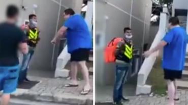 Entregador sofre agressões verbais e ofensas racistas em condomínio de SP