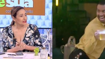 """Gil expõe irmã no BBB21 e Sonia Abrão detona: """"Auge da baixaria"""""""