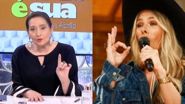 """Galisteu estreia em 'A Fazenda' e Sonia Abrão critica: """"Pisou na bola"""""""