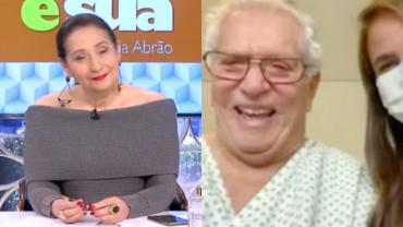"Carlos Alberto de Nóbrega após ser internado: ""Foi um susto"""