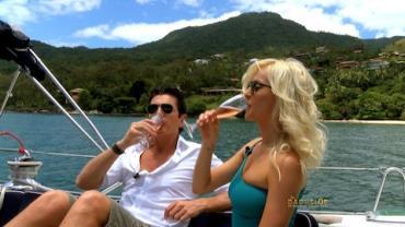 Bachelor leva Gica para passeio em Ilhabela