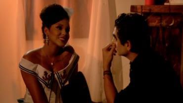 Antes de ser eliminada, Catarina colocou Gianluca 'contra a parede'