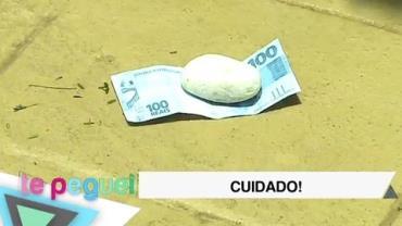 "Malandro deixa dinheiro ""perdido"" na rua para assustar pedestres"