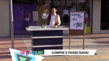 """Árabe falseta vende """"tempurá"""" para clientes e oferece supresa"""