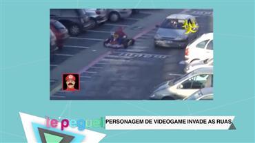 Mario Kart invade ruas e impressiona pedestres