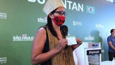"""""""Para nós indígenas foi devastador"""", afirma Vanuzia Kaimbé sobre a Covid-19"""