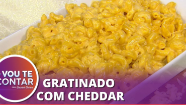 """Receita de """"Macarrão Mac and Cheese"""" para agradar toda a família"""