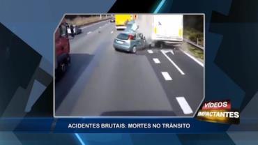 Manobra imprudente causa acidente em rodovia