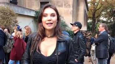 Júlia Pereira mostra bastidores de desfile da Paris Fashion Week