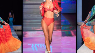Júlia Pereira revela segredos para arrasar na Semana de Moda Praia de Miami