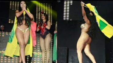 Miss Bumbum: conheça Ellen Santana, campeã de 2018