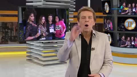 David Brazil descobre que tem 'irm� g�mea' no Carnaval