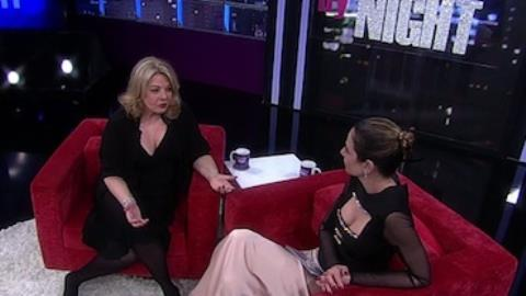 Gimenez entrevista a m�e no Luciana By Night