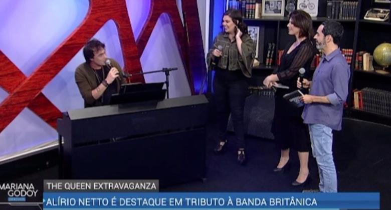 Mariana Godoy recebe brasileiro de turnê em tributo oficial a Queen - RedeTV!