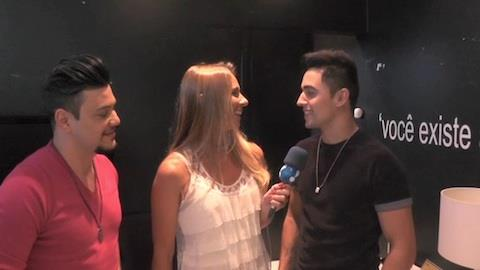 Fred e Gustavo falam da participa��o de Gustavo Lima em DVD
