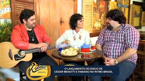 C�sar Menotti e Fabiano falam sobre novo �lbum