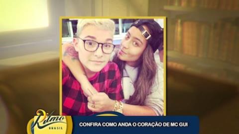 Mc Gui esclarece suposto romance com Rafaella, irm� de Neymar