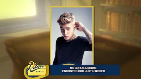 Mc Gui conta se ir� conhecer Justin Bieber nos EUA