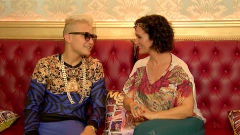 Mc Gui fala de sua amizade com Mc Ludmilla