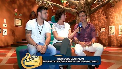 Fred e Gustavo falam sobre DVD com participa��o de Gusttavo Lima