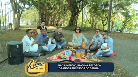 Na 'Jukebox', Imaginasamba recorda grandes sucessos do samba