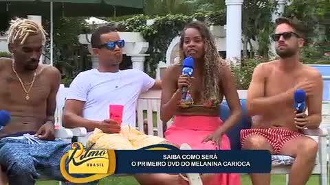 Melanina Carioca conta como foi gravar o primeiro DVD do